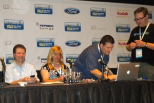 Dad bloggers at BlogWorld 2010