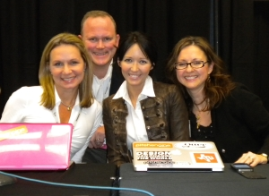 Lisa Buyer, Sean Jackson, Sarah Evans, Victoria Harres PR Newswire social media pubcon