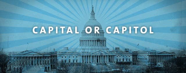 Capitol vs Capital title graphic