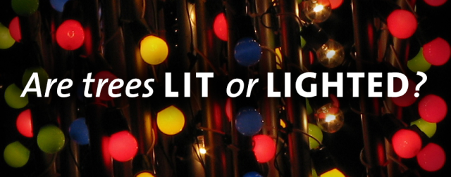 Lit vs Lighted title graphic