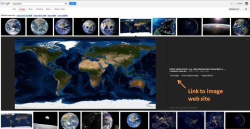 A look at Google's new image search, courtesy of the Google Webmaster Blog, with my own emphasis added in orange.