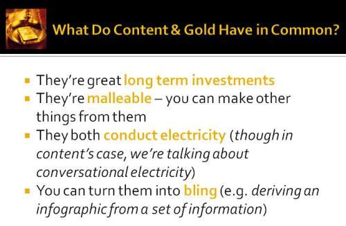 content gold