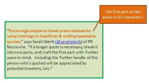 press release quote