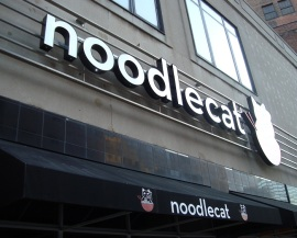 Stop by James Beard Awards Finalist Chef Jonathan Sawyer's Noodlecat for happy hour specials on noodles, steam buns and sake.