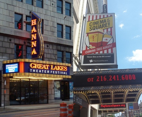 Take a tour, see a show, or enjoy dinner at Cleveland's PlayhouseSquare, the country's second largest performing arts center behind New York's Lincoln Center.