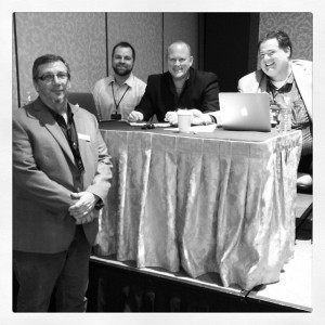 Conference organizers and former presidents of DFWSEM: @dansturdivant @marksbarrera @seanthinks @tonynwright