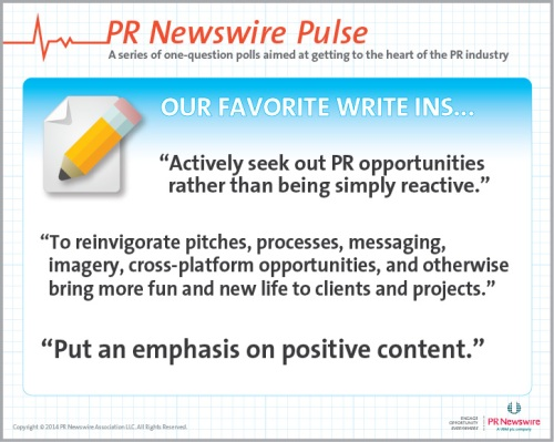 pulse pr resolutions writeins