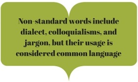 nonstandard words
