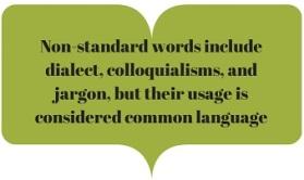 nonstandard words