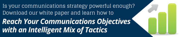 communications objectives mix of tactics