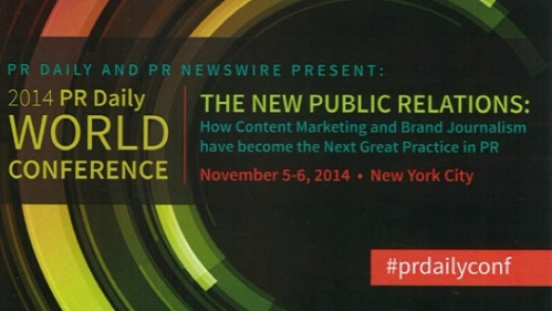 PR Daily World Conference 2014