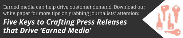 White Paper: Press Release Tips for Driving Earned Media