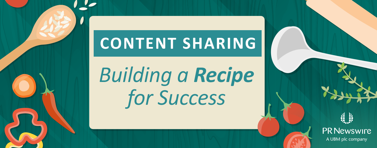 Content Sharing: Building a Recipe for Success