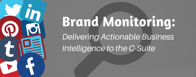 brand_monitoring actionable intelligence