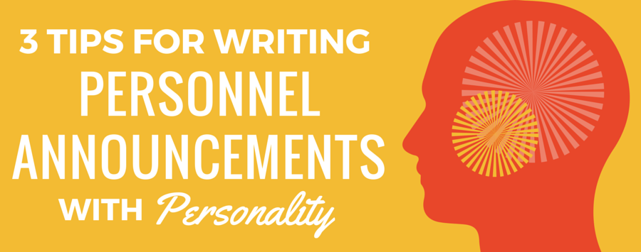 Blog | How to Add Personality to Your Next Personnel Press Release