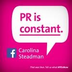 PR is constant.