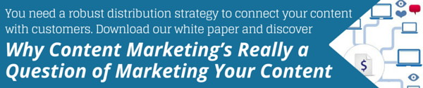 Content Marketing is marketing your content