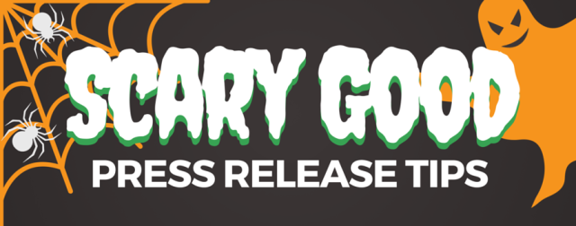 scary good press release tips title
