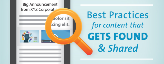 Best Practices for Content That Get Found