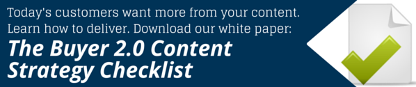 buyer content strategy checklist