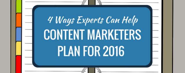 How to Use Experts in Content Marketing