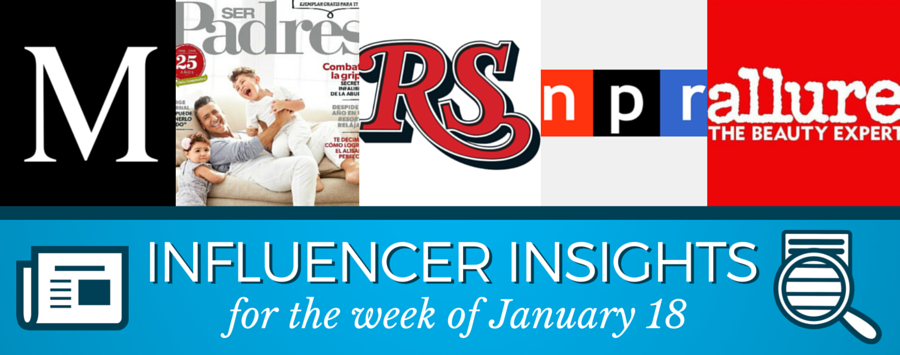 PR Newswire Influencer Insights January 18