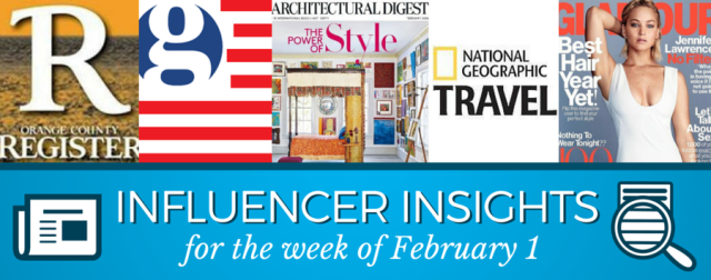 Influencer Insights and Media Moves Feb 1