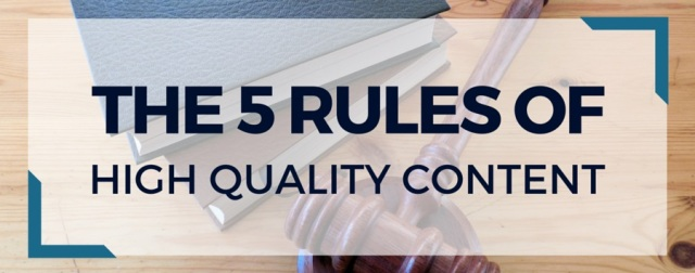 5 rules of high quality press releases