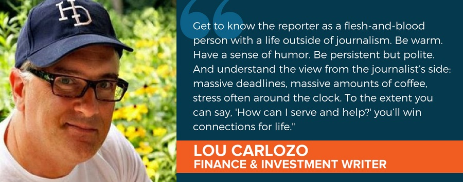 Journalist Spotlight: Finance and Investment Writer Lou Carlozo