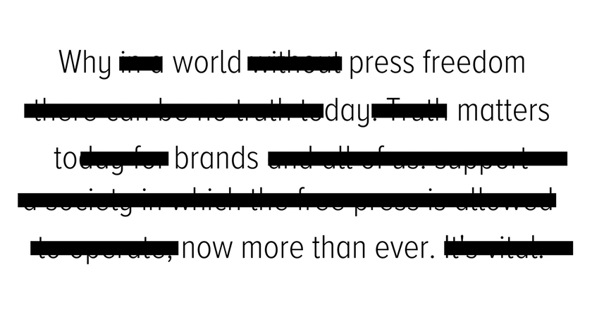 Why World #PressFreedom Day Matters to Brands Now More than Ever