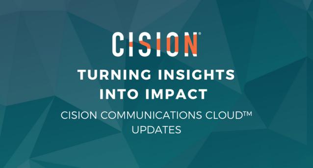 Cision Communications Cloud Updates