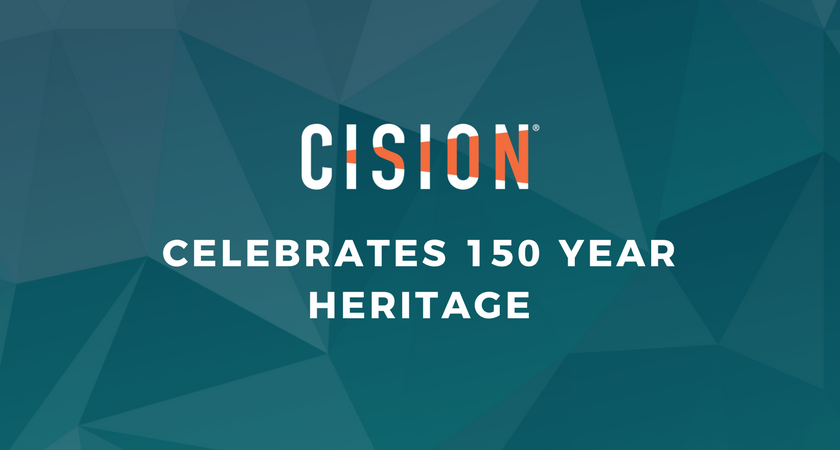 INFOGRAPHIC: Cision Celebrates 150 Year Heritage