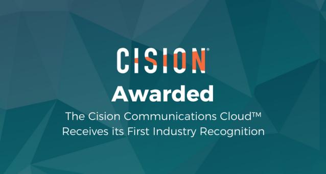 Cision Communications Cloud Wins Codie Award