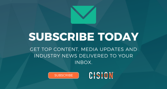 Cision Blog Subscribe